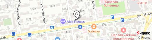 МИК на карте Ставрополя