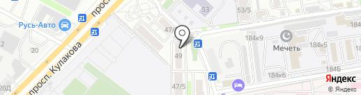 Акварельки на карте Ставрополя