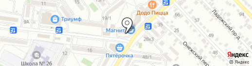Швейная мастерская на карте Ставрополя