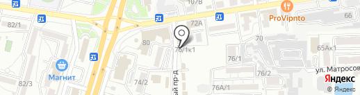 СТЕКЛИМ АВТО на карте Ставрополя