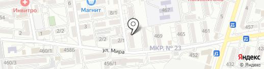 SEO Update на карте Ставрополя