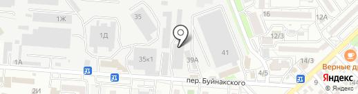 Мира-М на карте Ставрополя