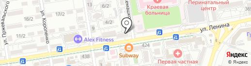 МясоГрад на карте Ставрополя