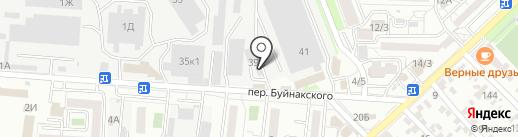 Макошь на карте Ставрополя