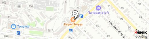 Лана на карте Ставрополя