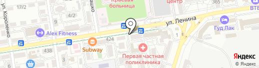 МКН на карте Ставрополя