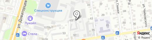 ТехАрт на карте Ставрополя
