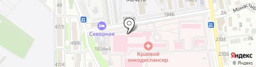 Ставропольский краевой клинический онкологический диспансер на карте Ставрополя