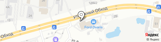 Дварис Моторс на карте Ставрополя