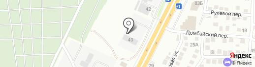 Центр Запасных Частей на карте Ставрополя