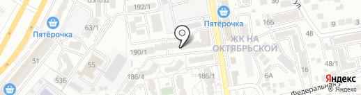 Авоська на карте Ставрополя