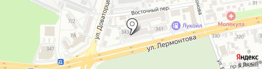 СЭЗ-сервис на карте Ставрополя