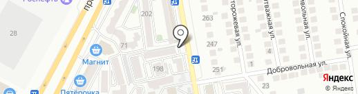 Инкор на карте Ставрополя