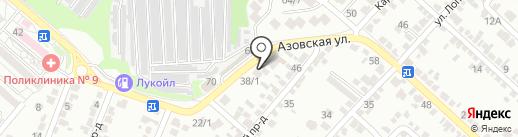 СтатусАвто на карте Ставрополя