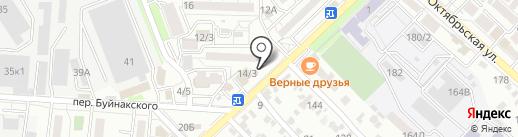 Япоша на карте Ставрополя