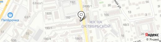 Сантехника на карте Ставрополя