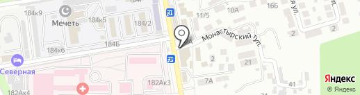 Шкатулка на карте Ставрополя