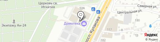 Мастер на карте Ставрополя