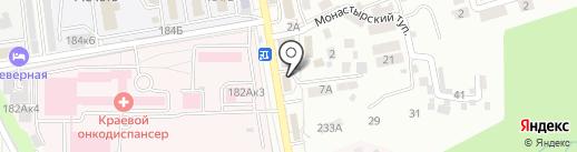 Sunrise на карте Ставрополя