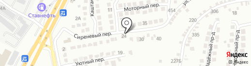 Контейнер26.ру на карте Ставрополя