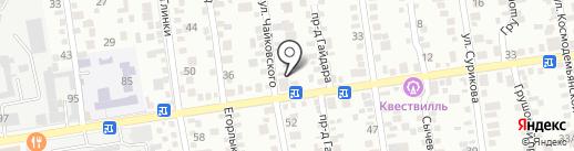 Арианна на карте Ставрополя