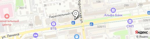 Boka-Boka на карте Ставрополя