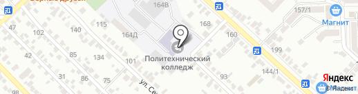 Gustomebel на карте Ставрополя