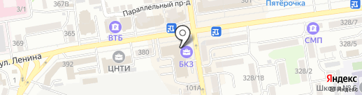 Панорама+ на карте Ставрополя