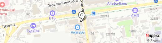 Антикваръ на карте Ставрополя