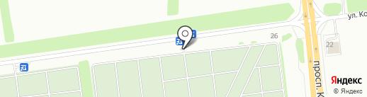 Обелиск, МУП на карте Ставрополя