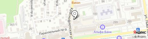 Паранойя на карте Ставрополя