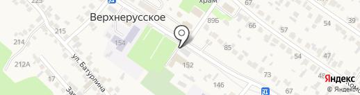 Березка на карте Верхнерусского