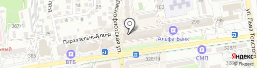 101 микс на карте Ставрополя