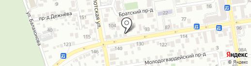 Ритуальный салон на карте Ставрополя