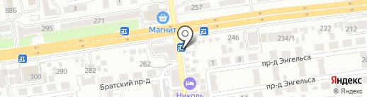OS-CAR на карте Ставрополя