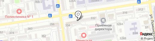 Студия красоты на карте Ставрополя