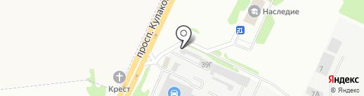 Юг-Ковка на карте Ставрополя