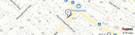 Лада Деталь на карте Ставрополя