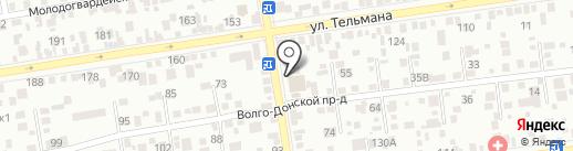 Фасоль на карте Ставрополя