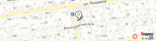 Строй Альянс на карте Ставрополя