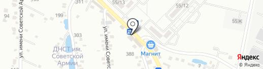 Лекарь на карте Ставрополя