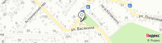 Новая Волна на карте Ставрополя