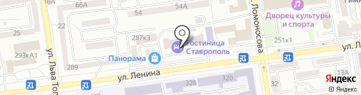 H & M Studio на карте Ставрополя