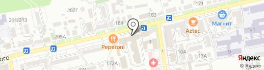 Рудгер на карте Ставрополя