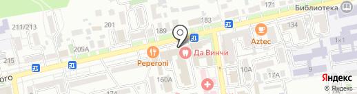 Сервис Безопасности на карте Ставрополя