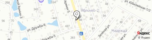 AMG на карте Ставрополя