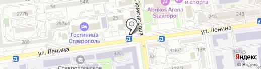 Flower Lab на карте Ставрополя