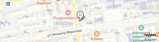 Ортопедический магазин на карте Ставрополя