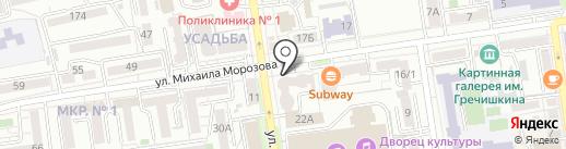 Юристъ на карте Ставрополя