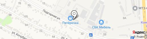 ПРОРАБ на карте Верхнерусского